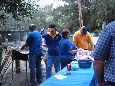 BBQ at Featherdale